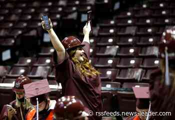Photos from the 2021 Missouri State University's College of Business graduation