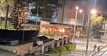 Policía quemado con químico, un CAI incinerado en Funza: balance de desmanes en Bogotá y alrededores - Blu Radio