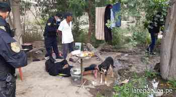 Lambayeque: Policía interviene a tres hombres con droga en Jayanca - LaRepública.pe