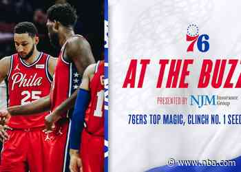 76ers Top Magic, Clinch No. 1 Seed in East