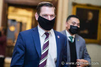 'Told the bully what I thought': Swalwell chides Marjorie Taylor Greene aide in mask dispute