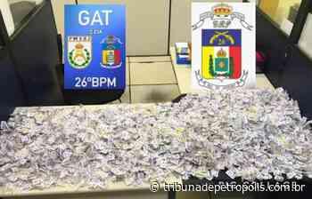 PM faz segunda grande apreensão de drogas no Vale do Carangola em menos de 24 horas   Tribuna de Petrópolis - Tribuna de Petrópolis