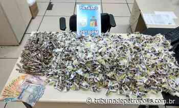 PM apreende 2.596 cápsulas de cocaína no Vale do Carangola   Tribuna de Petrópolis - Tribuna de Petrópolis