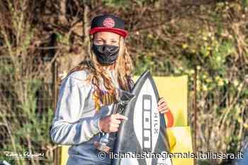 Argento allo Junior Surf Champ per la surfista di Anzio Sofia Fratarcangeli - Il Clandestino Giornale