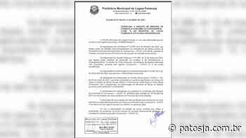 Após aumento de casos de Covid-19 em Lagoa Formosa prefeitura publica decreto com regras mais rígidas - Patos Já