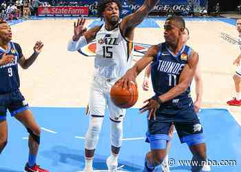 Game Recap: Thunder 93, Jazz 109