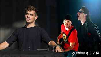 Bono and The Edge join DJ Martin Garrix for official Euro 2020 anthem - Q102