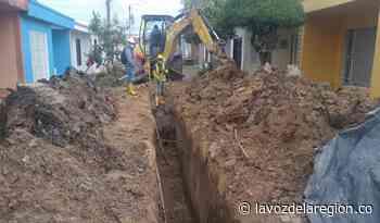 Avanzan trabajos de reposición del alcantarillado en sectores de Pitalito - Huila