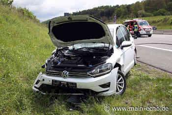 Unfall auf A3 bei Waldaschaff – Golf-Fahrerin schwer verletzt - Main-Echo