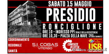 Ronciglione, presidio all'ospedale Sant'anna di Ronciglione - OnTuscia.it