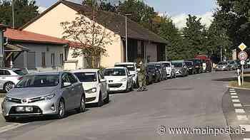 MP+ Hochbetrieb an der Corona-Teststation in Heustreu - Main-Post