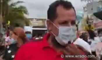 Denuncian agresión contra docente en medio de una manifestación en Montelíbano - W Radio
