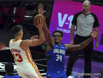 Bogdanovich scores 27 points, Hawks breeze past Magic - Associated Press