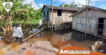 Itacoatiara deve ser atingida com cheia histórica do rio Amazonas - EM TEMPO