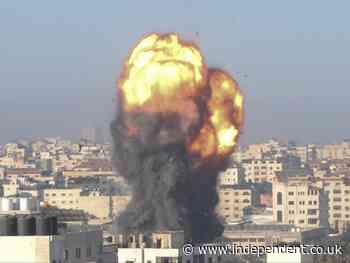 Israel news – live: US envoy arrives for de-escalation talks as unrest spreads over Gaza bombardment