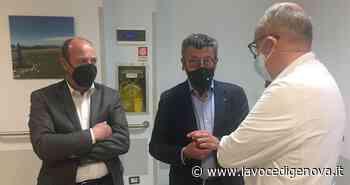 Sanità, Brunello Brunetto (Lega) in visita agli ospedali di Rapallo, Sestri Levante e Lavagna - LaVoceDiGenova.it