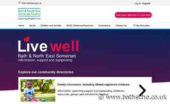 Online support site launched for adults across Bath and North East Somerset - Bath Echo