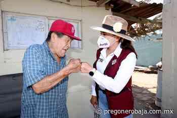 Reciben con agrado vecinos de la colonia Bella Vista a su candidata a diputada Alejandra Ang - PregoneroBaja