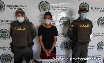 Cae con un arma y droga en Sitionuevo, Magdalena - El Informador - Santa Marta