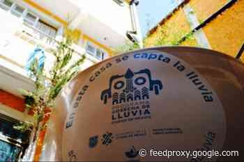 How to register for the Rain Harvest program in Mexico City?