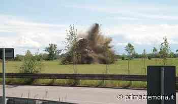 Il video e le foto della bomba disinnescata dagli artificieri del Genio Guastatori di Cremona - Prima Cremona