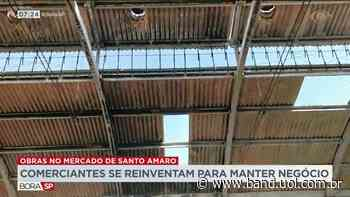 Comerciantes tentam manter negócio no Mercado de Santo Amaro - Band Jornalismo