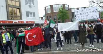 Nahostkonflikt: Demo gegen die Politik Israels in Espelkamp - Neue Westfälische