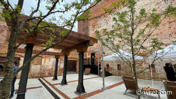 New 'Pocket Park' opens in Downtown Danville - WSET