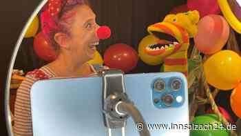 Der Kindertag in Neumarkt findet virtuell statt: Clown kommt zu den Kindern ins Wohnzimmer