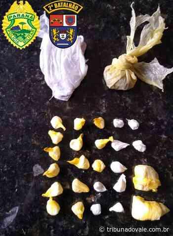 Preso em Ibaiti homem envolvido em tentativa de roubo em Figueira - Tribuna do Vale