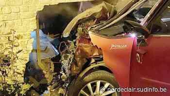 Templeuve: une voiture dans son salon à Forzeau, Marguerite surprise dans son lit... - Sudinfo.be