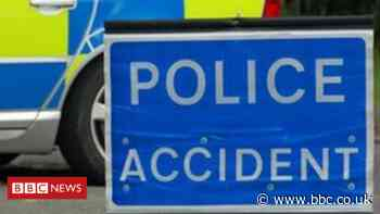 One man killed in two-car crash on A950 in Aberdeenshire