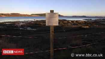 Radioactive beach clean up work to begin at Dalgety Bay