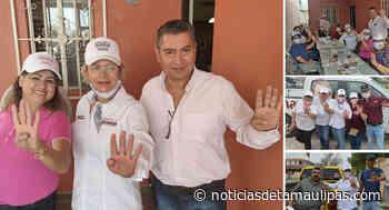 Recorre Magaly Deándar Colonias Fuentes Coloniales y las Cumbres - Noticias de Tamaulipas