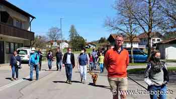 Weitnau geht beim ersten Bürger-Spaziergang auf Ideensuche - kreisbote.de