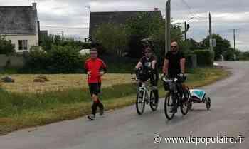 Solidarité - Après 700 kilomètres de souffrance et de partage, le gendarme de Limoges est arrivé en Bretagne - lepopulaire.fr