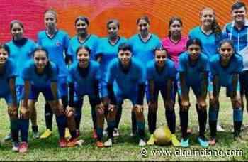 La Tebaida participará en torneo internacional de futbol femenino - El Quindiano S.A.S.