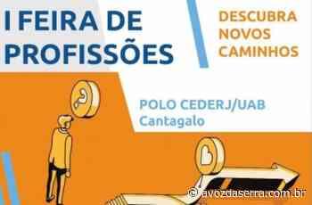 Polo Cederj de Cantagalo promove 1ª Feira de Profissões - A Voz da Serra