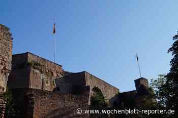 Burg Nanstein - Eindrucksvolles Wahrzeichen der Stadt Landstuhl - Landstuhl - Wochenblatt-Reporter