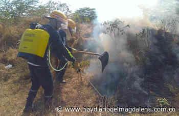 Corpamag firma convenio con bomberos de Nueva Granada - Hoy Diario del Magdalena