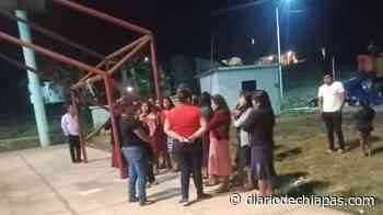 Jovita Gómez visita la ranchería Vista Hermosa - Diario de Chiapas