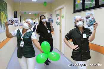 Enfermeiros e técnicos de Enfermagem recebem homenagens no Materno-Infantil de Barcarena - REDEPARÁ