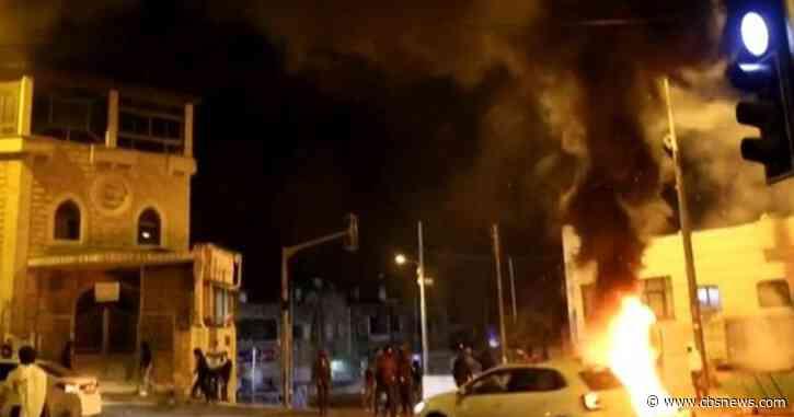 Fighting between Israeli forces and Palestinians intensifies