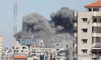 Israel strike destroys AP and Al-Jalaa building offices in the Gaza Strip