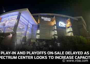 Play-In and Playoffs On-Sale Delayed as Spectrum Center Looks to Increase Capacity