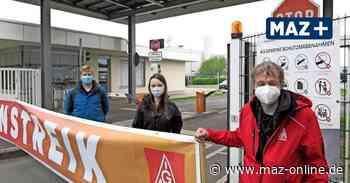 Ludwigsfelde: Ganztagsstreik Mercedes Ludwigsfelde mit Verhandlungsaussicht - Märkische Allgemeine Zeitung