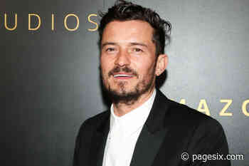 Orlando Bloom's poncho mocked by Gwyneth Paltrow, Katy Perry and more - Page Six