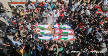 Israeli airstrike on Gaza home kills at least 10 people, most of them children