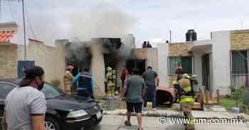 Seguridad Irapuato: Explosión de tanque de gas provoca incendio en Residencial Floresta - Periódico AM