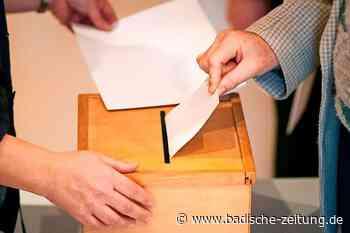 Für die Bürgermeisterwahl hat sich ein zweiter Kandidat beworben – zu spät - Ehrenkirchen - Badische Zeitung